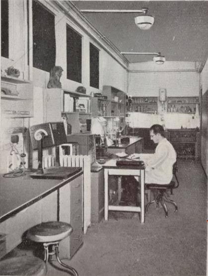laboratoire Trocadéro