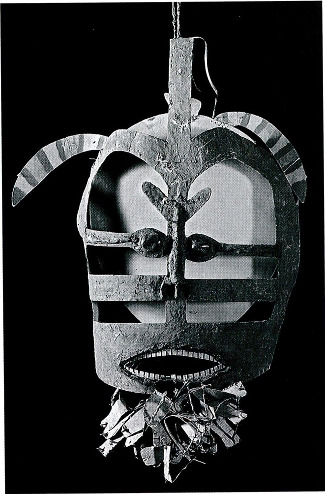 Modèle de masque Mabuiag Haddon 1888 Camb MAA