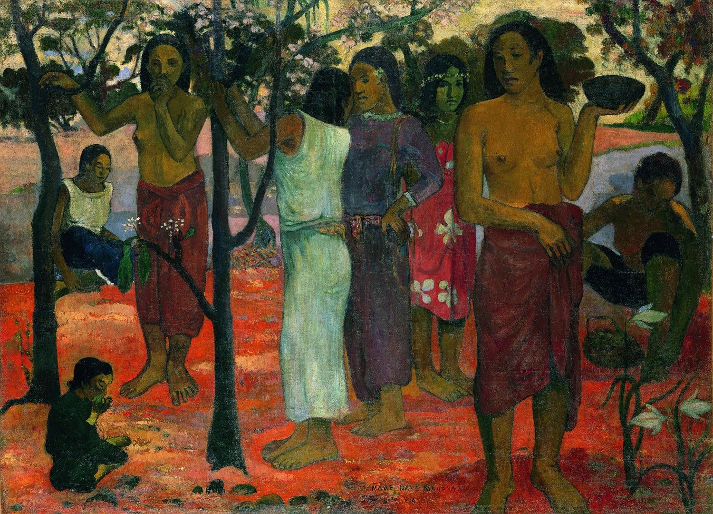 Gauguin-Nave_nave_mahana-Lyon