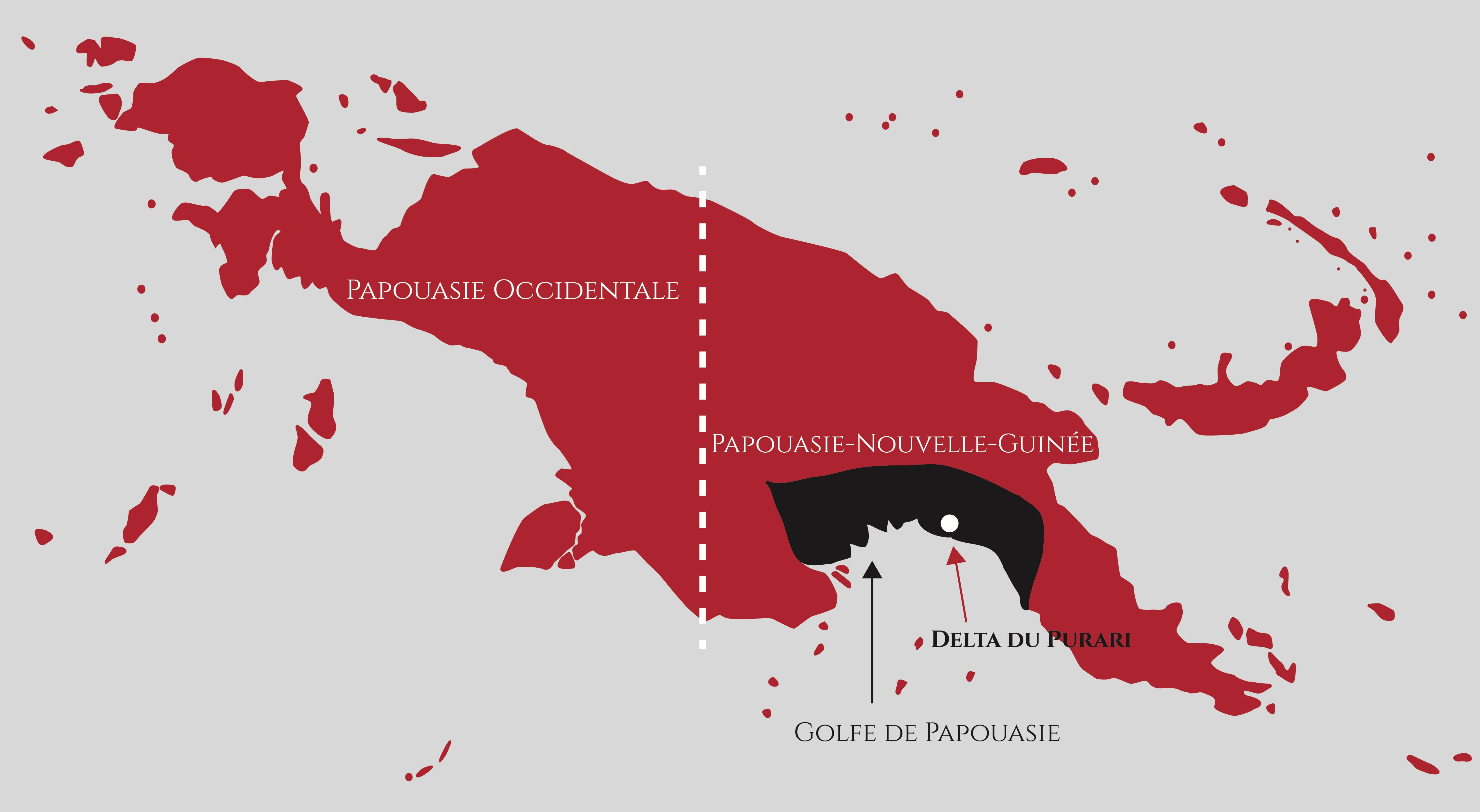 Carte Golfe de Papouasie 21